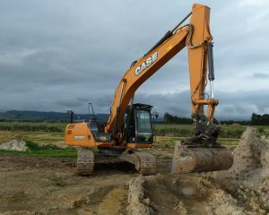 CASE CX210C excavator for hire