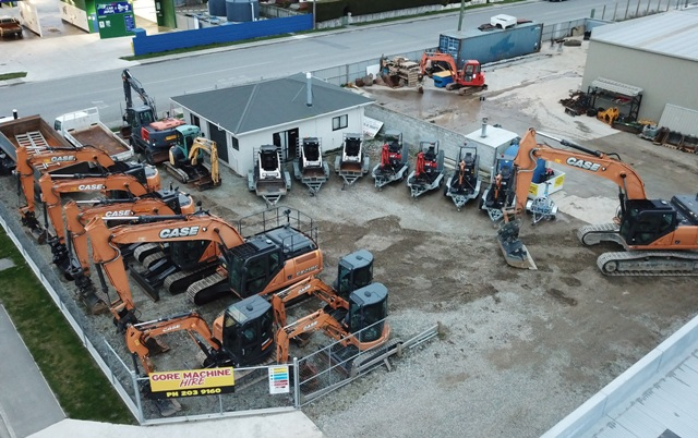 Gore Machine Hire Yard